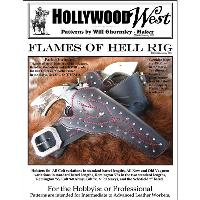 Flames of Hell Holster & Gun Belt Pattern Pack by Will Ghormley