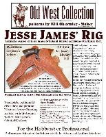Jesse James Rig Pattern Pack - Designed by Will Ghormley. Used in 2006 Jesse James Movie with Brad Pitt!
