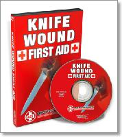 Knife Wound First Aid with John Klatt (DVD)  - How to help yourself or another person survive.