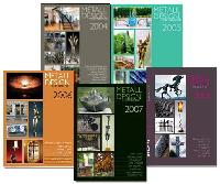 International Metal Design Annual Series: 2004 through 2008 Bundle