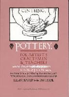 Pottery for Artists, Craftsmen & Teachers by George J. Cox - George J Cox