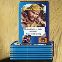 Survivalist DVD Library (8 Survival DVDs) with Ron Hood