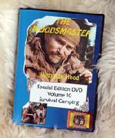 Survival Camping: Woodsmaster Vol. 10 (DVD) - Hosted by Survival Expert and Vietnam Vet Ron Hood