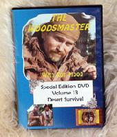 Desert Survival with Ron Hood: Woodsmaster Volume 13 (DVD)  - Hosted by Survival Expert and Vietnam Vet Ron Hood
