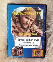 Crafts for the Field with Ron Hood: Woodsmaster Volume 14 (DVD)  - Hosted by Survival Expert and Vietnam Vet Ron Hood
