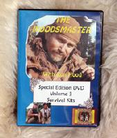Survival Kits: Woodsmaster Vol. 3 (DVD) - Hosted by Survival Expert and Vietnam Vet Ron Hood