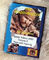 Traps and Trapping with Ron Hood: Woodsmaster Volume 5 (DVD)  - Award Winning Video Hosted by Survival Expert and Vietnam Vet Ron Hood