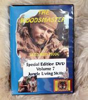 Jungle Living Skills with Ron Hood: Woodsmaster Volume 7 (DVD)  - Award Winning Video from Vietnam Vet & Survival Expert Ron Hood