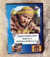 Primitive Knifemaking: Woodsmaster Vol. 9 (DVD) - Award Winning Video Hosted by Survival Expert and Vietnam Vet Ron Wood
