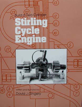 Build a Two Cylinder Stirling Cycle Engine by Dave Gingery (OOP)