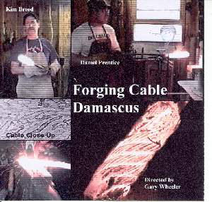 Forging Cable Damascus with Kim Breed, Dan Prentice (DVD)