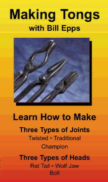 Making Tongs with Bill Epps (DVD)