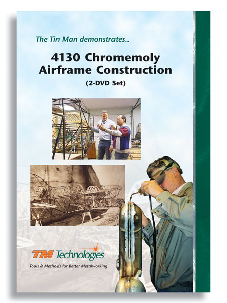 4130 Chromemoly Airframe Construction (2 DVDs)
