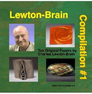 Compilation #1 for Jewelers by Charles Lewton-Brain (10 original papers on CD-ROM)