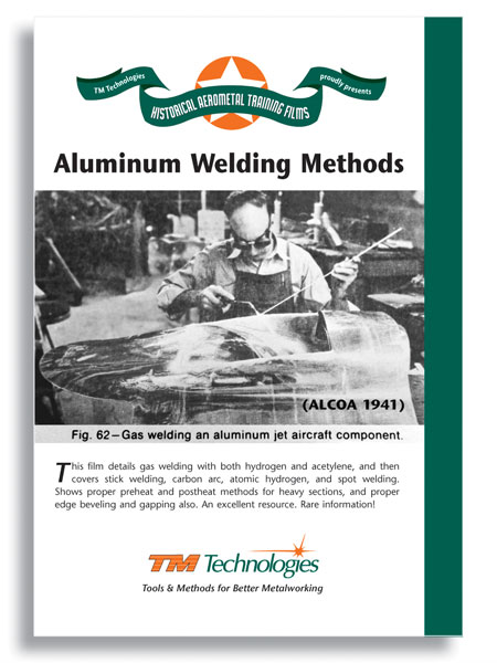 Aluminum Welding Methods by ALCOA (DVD)