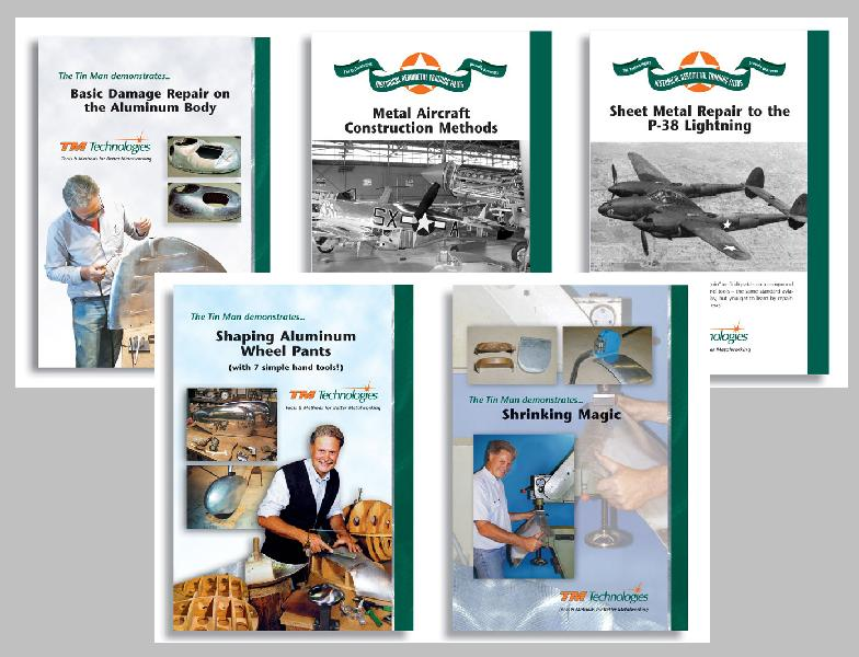 Introduction to Aluminum Work with Kent White and others (5 DVD set)
