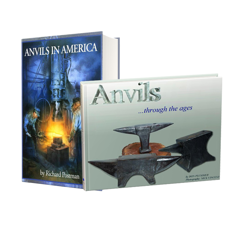 Anvils in America and Anvils Through the Ages (Two Book Set!)