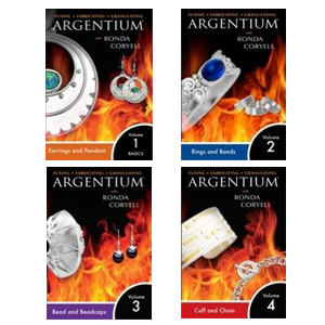 Argentium® Series Set I, II, III & IV by Ronda Coryell (4 DVDs)