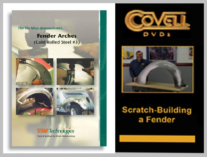 Automobile Fender Construction & Replacement with Ron Covell and Kent White (2 DVD Set!)