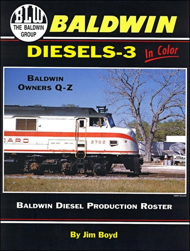 Baldwin Diesels - 3 In Color