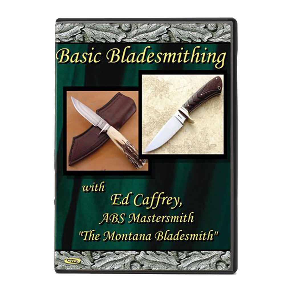Basic Bladesmithing with Ed Caffrey, ABS Mastersmith (DVD)