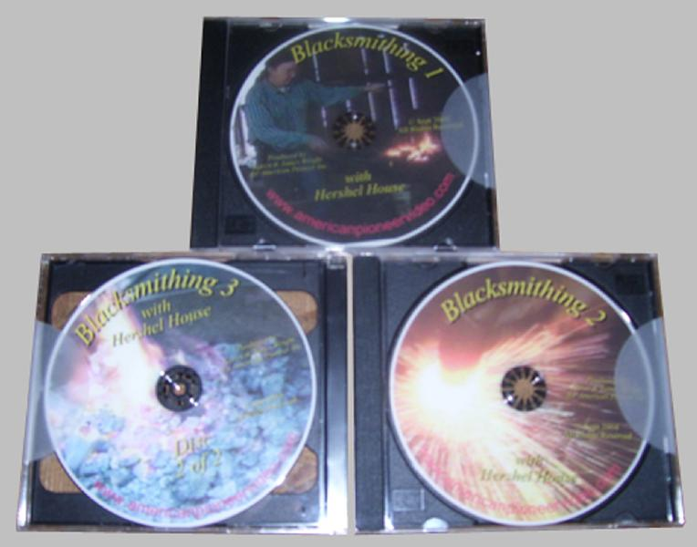 Blacksmithing with Hershel House (3 DVD Set)
