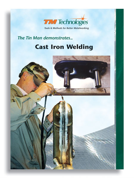 Cast Iron Welding with the Torch & Arc with Kent White (DVD)