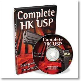 Complete HK USP: Disassembly and Reassembly with Robert Soldenski (DVD)