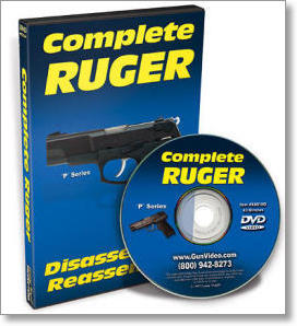 Complete Ruger P Series Disassembly and Reassembly (DVD)