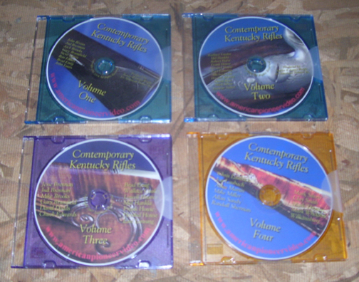 Contemporary Kentucky Rifles (all 4 DVDs at a Savings)