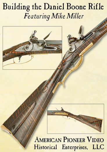 Building the Daniel Boone Rifle featuring Mike Miller (DVD)
