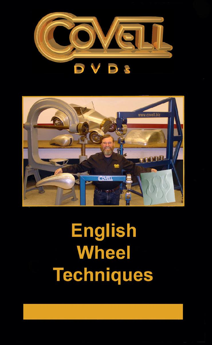 English Wheel Techniques with Ron Covell (DVD)