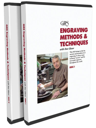 Engraving Methods & Techniques with Don Glaser (2 DVDs)