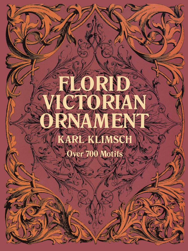 Florid Victorian Ornament by Karl Klimsch