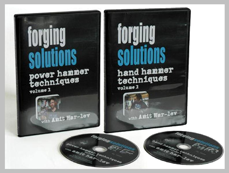 Forging Solutions with Amit Har-lev: Hand Hammer & Power Hammer Techniques (2 DVD Set)