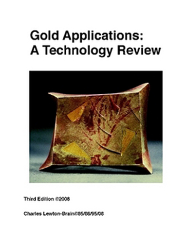 Gold Surface Applications by Charles Lewton-Brain: A Technology Review