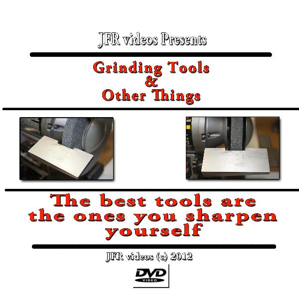Grinding Tool Bits and Other Things with Jose Rodriguez (DVD)