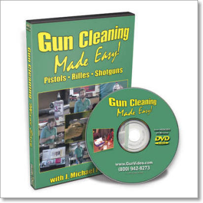 Gun Cleaning Made Easy with J. Michael Plaxco: Pistols, Rifles, Shotguns (DVD)
