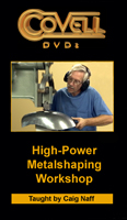 High Power Metalshaping Workshop with Craig Naff (DVD)
