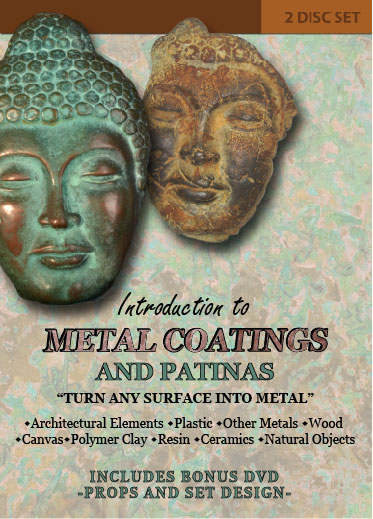 Introduction to Metal Coatings and Patinas with Ron Young (DVD)