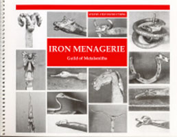 Iron Menagerie by Paul Hubler: How to Forge 15 Different Animal Heads