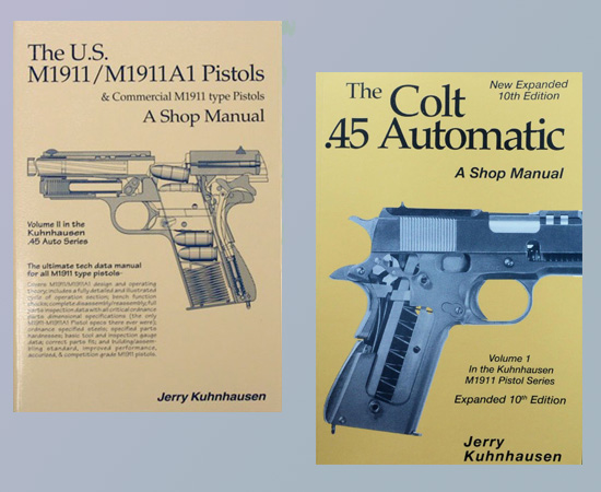The Colt .45 Automatic and the U.S. M1911/M1911A1 Pistols (2 Book Set) by Jerry Kuhnhausen