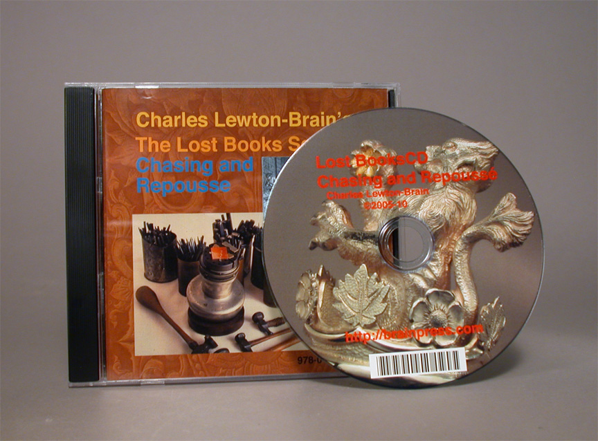 Lost Books: Chasing and Repoussé by Charles Lewton-Brain (CD-rom)