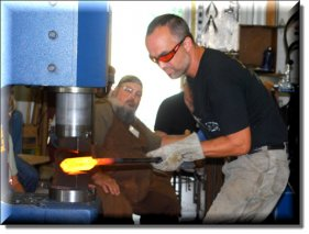 Mosaic Damascus with Jason Knight (an American Bladesmith Society DVD) 3 DVDs