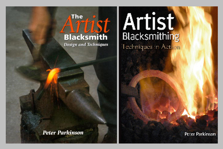 Peter Parkinson Book & DVD Set: Artist Blacksmithing (Dvd) plus The Artist Blacksmith
