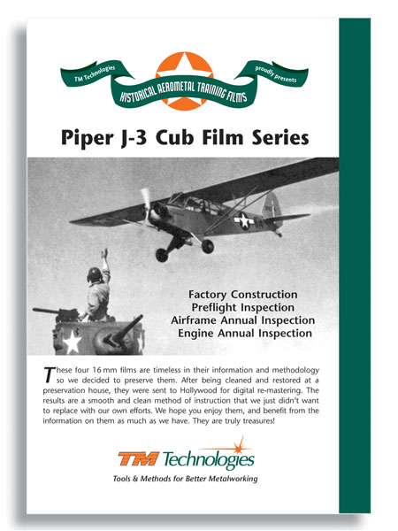 Complete Piper J3 Training Series: J3 Cub Film Series (DVD)
