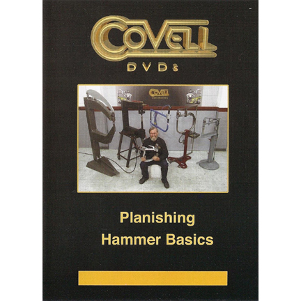 Planishing Hammer Basics with Ron Covell (DVD)