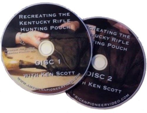 Recreating the Kentucky Rifle Hunting Pouch (DVD)