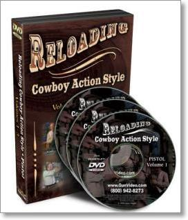 Reloading (Cowboy Action Style) Pistol with Larry Cohen (3 DVDs)