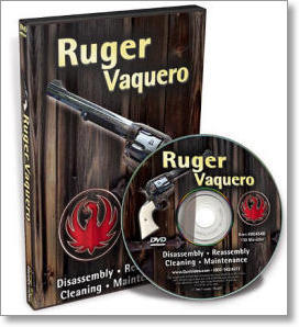 Ruger Vaquero Dissassembly and Reassembly with Larry Crow (DVD)